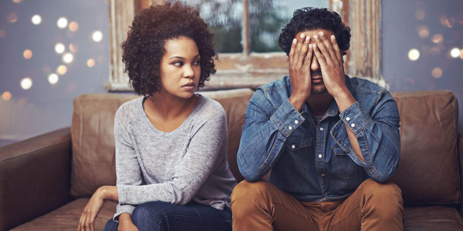 مردان در فشارهای روانی ایجادشده توسط زنان، دست به دامان دروغ میشوند