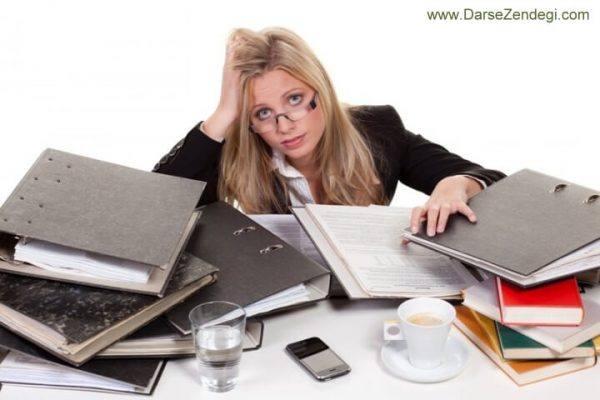 بررسی عوامل استرس زا و تفاوت آن با ترس و اضطراب